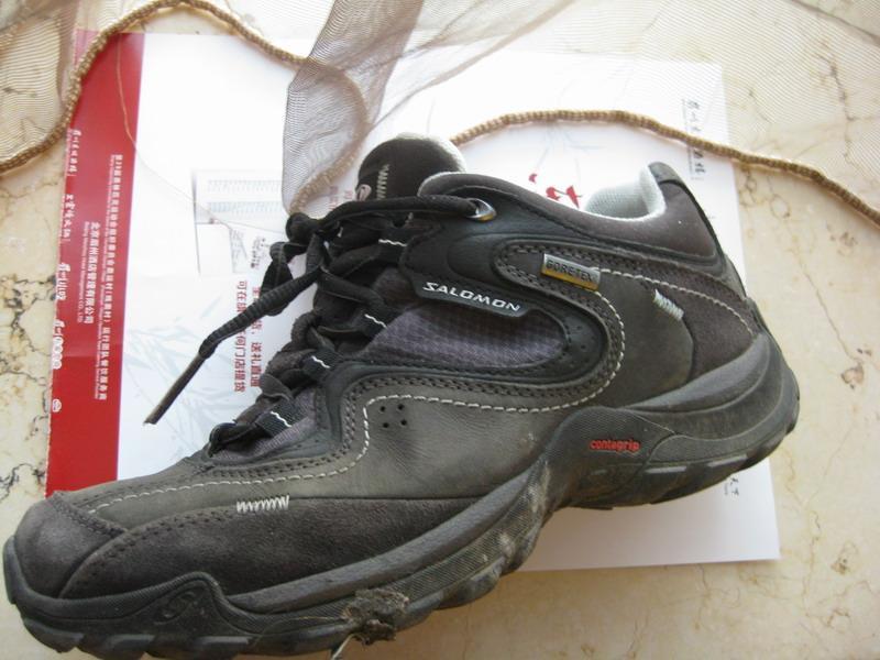 一双鞋—–1109Salomon女款徒步鞋 装备测评提交报告