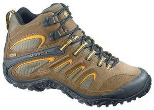 MERRELL 变色龙系列徒步鞋R415047 测评报告  完成中期测评
