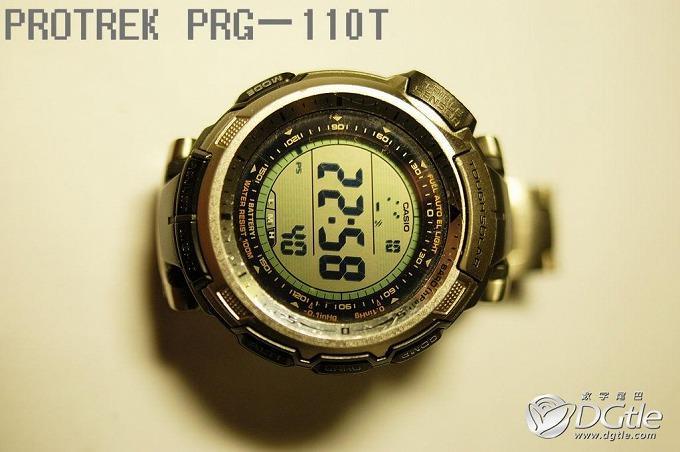 钛合金户外腕表—— CASIO PROTREK PRG—110T小记