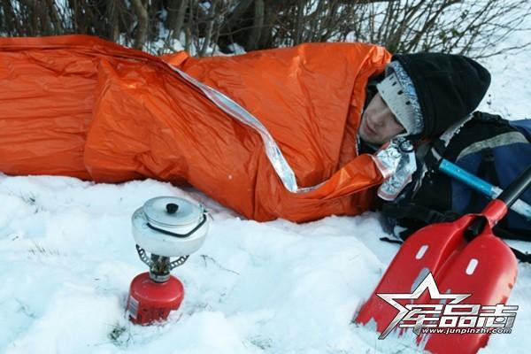迅速恢复体温:Blizzard专业救生毯