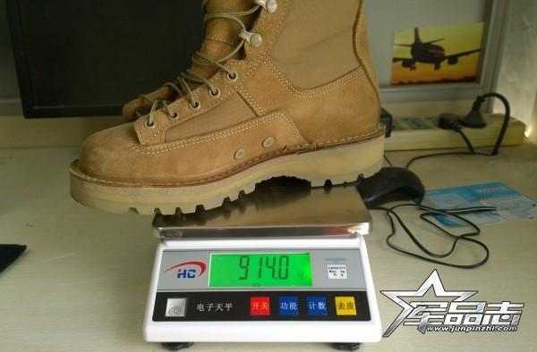 一克重一分强,一克少一分险?军品志拆过的靴子都上称喽