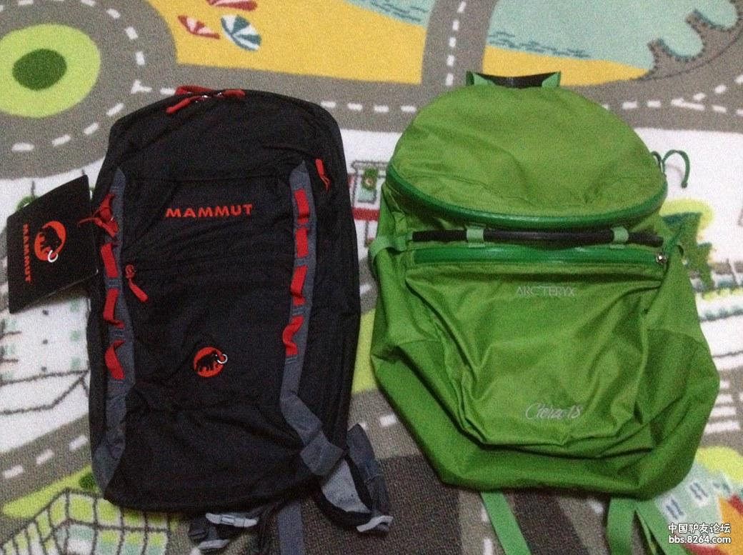 新入手Mammut Neon Light 12L顺便对比一下Arcteryx Cierzo 18L