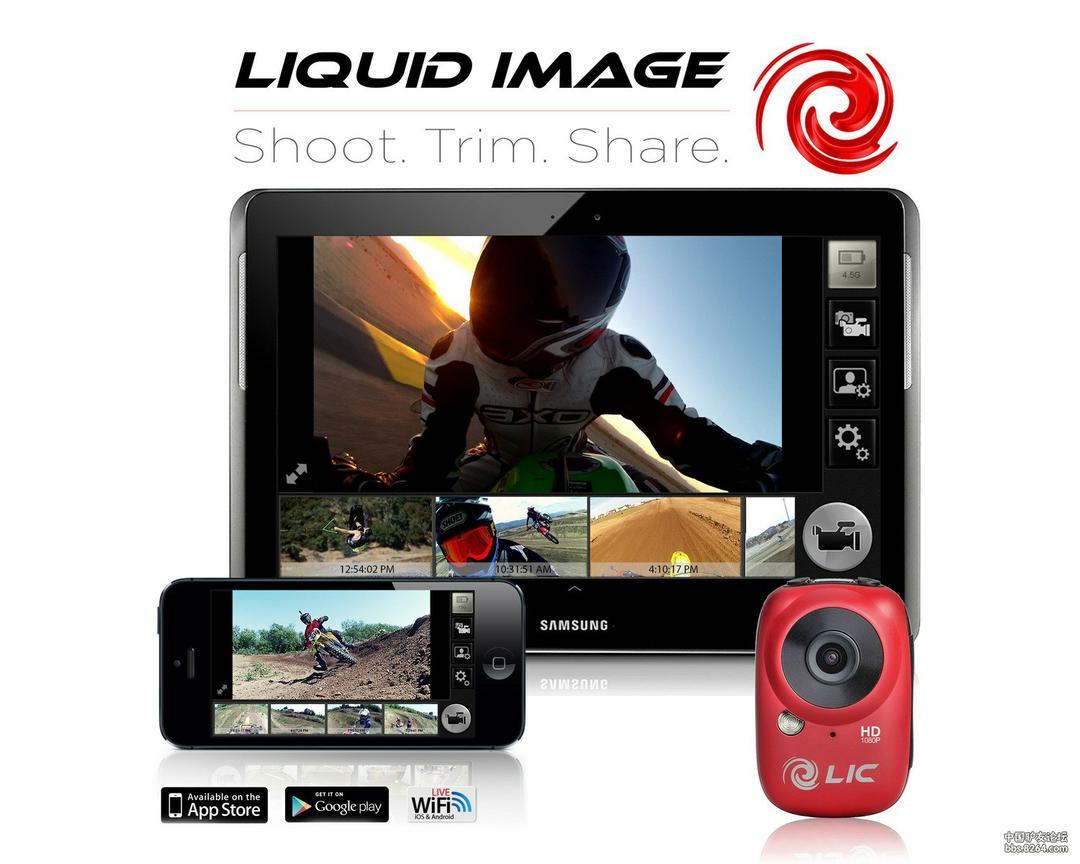 运动摄像机全新选择,Liquid Image Ego727开箱+评测!