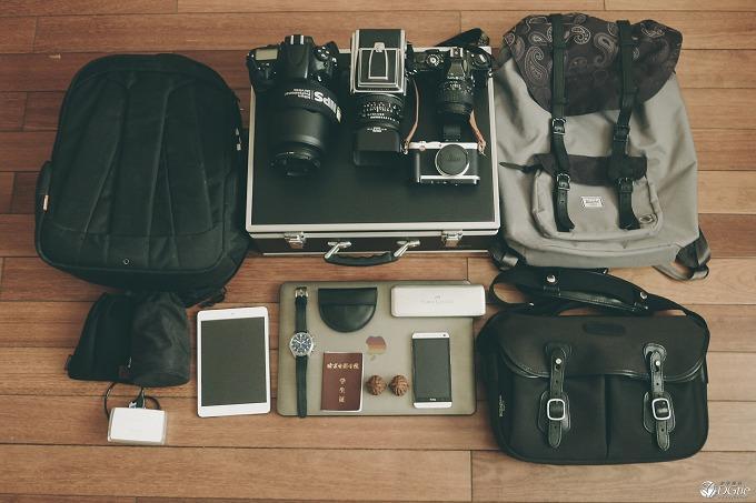 出行装备 — 摄影专业学生的日常