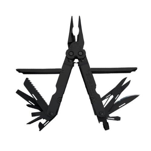 SOG Specialty Knives & Tools B61N-CP PowerLock EOD 2.0 Scissor Multi-Tool with Double Tooth Saw and Nylon Sheath, 22-Tools Combined, Black Finish - Multitools - Amazon.com