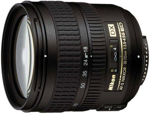 Amazon.co.jp: Nikon AF-S DX Zoom Nikkor ED 18-70mm F3.5-4.5G (IF) ニコンDXフォーマット専用: カメラ・ビデオ