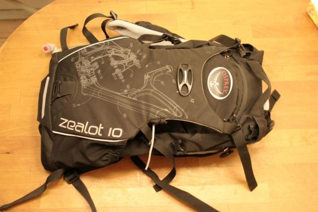 Osprey Zealot 10L骑行包评测