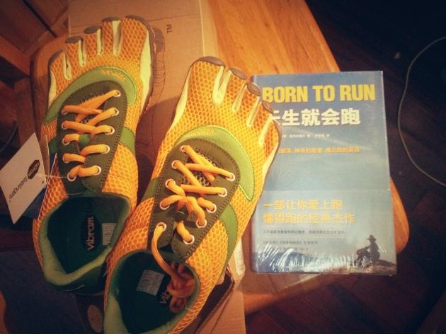 Vibram Fivefingers SPEED开箱