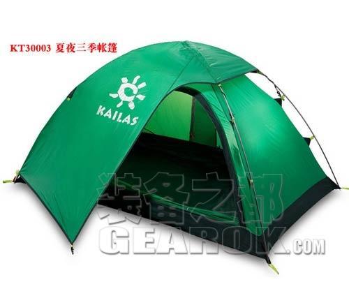新款KAILAS KT30003 夏夜三季野营帐篷测评报告