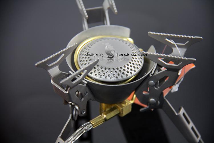 火枫 FMS-100T钛金属气炉炉头分体式野营气炉测评