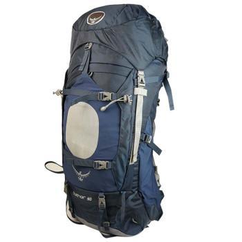 山脉户外 OSPREY苍穹60L70L85L男款户外背包(自带防雨罩) 70L蓝色 M