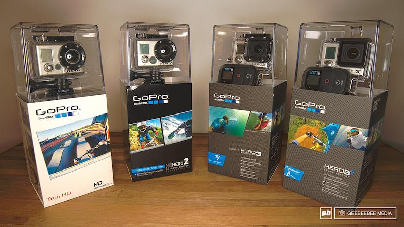 GoPro HERO 1 2 3 Black amp 3 Black