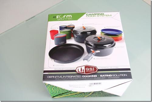 户外厨房新武器-GSI nform Camping Cooksystem
