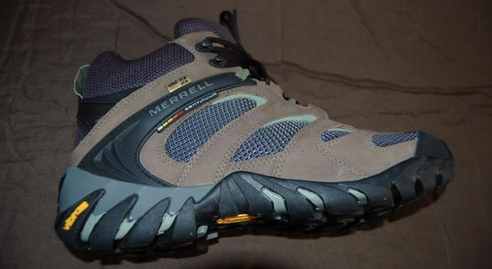 MERRELL mid GTX HIKING徒步鞋