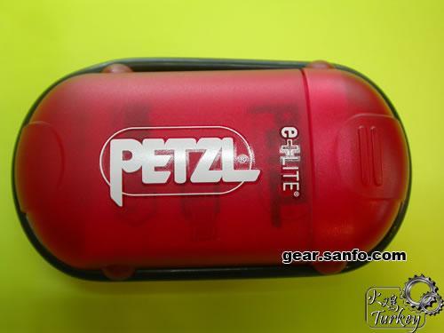掌中玩具全能型PETZL E+LITE超小型应急头灯图解