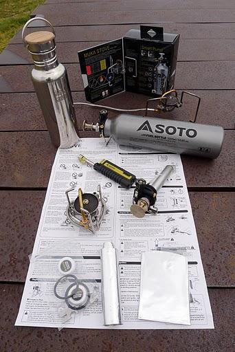 油炉油炉,继续油炉.来自日本的Soto MUKA STOVE OD-1NP