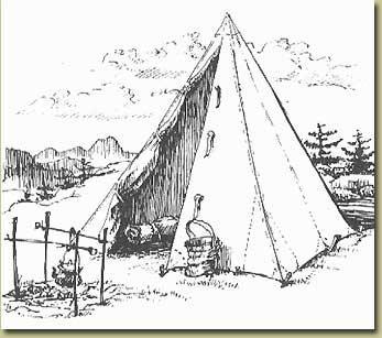闲话金字塔帐篷-PYRAMIND TENT WALKING