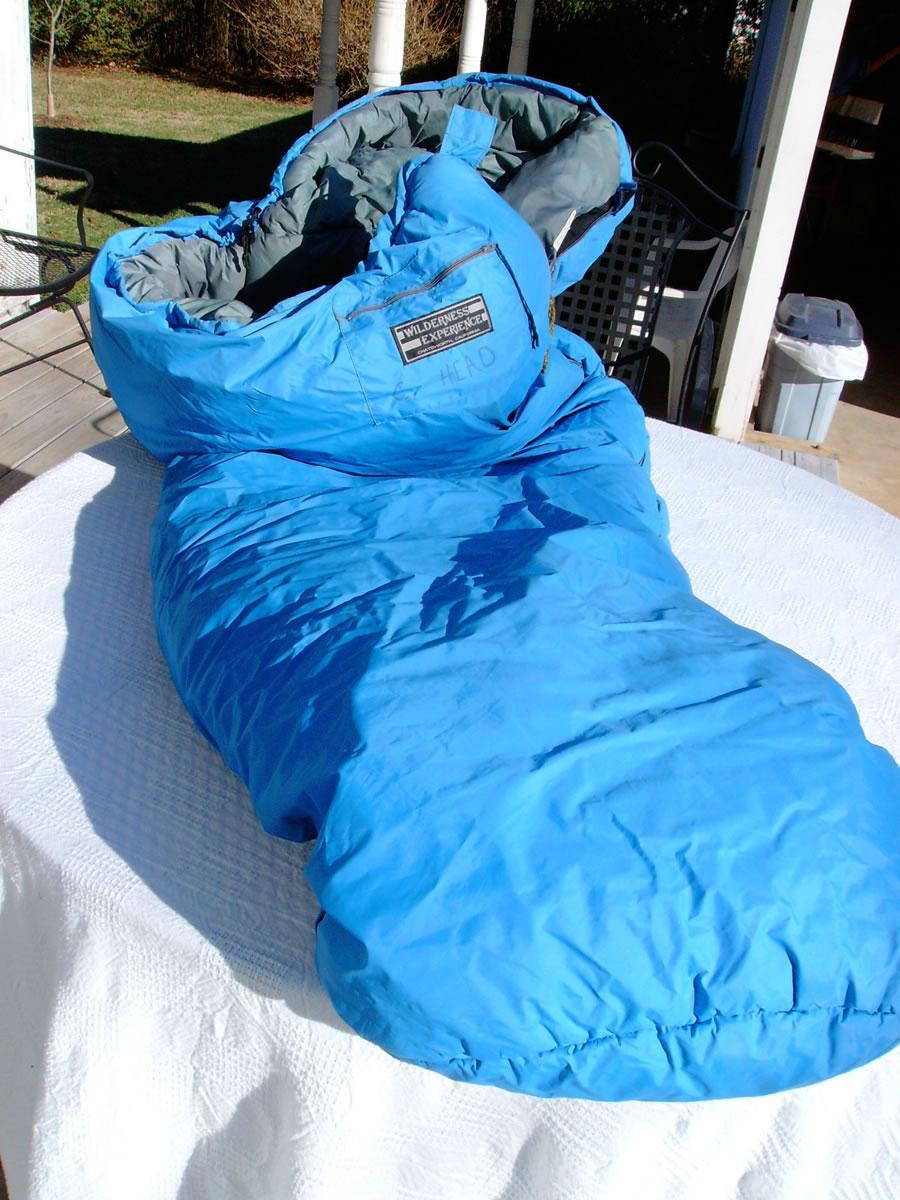 Wilderness Experience Gore-tex POLARGUARD 防水棉睡袋 赏析