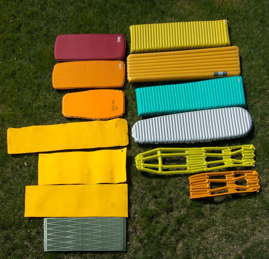 Sleeping Pads-主流防潮垫实际使用评测