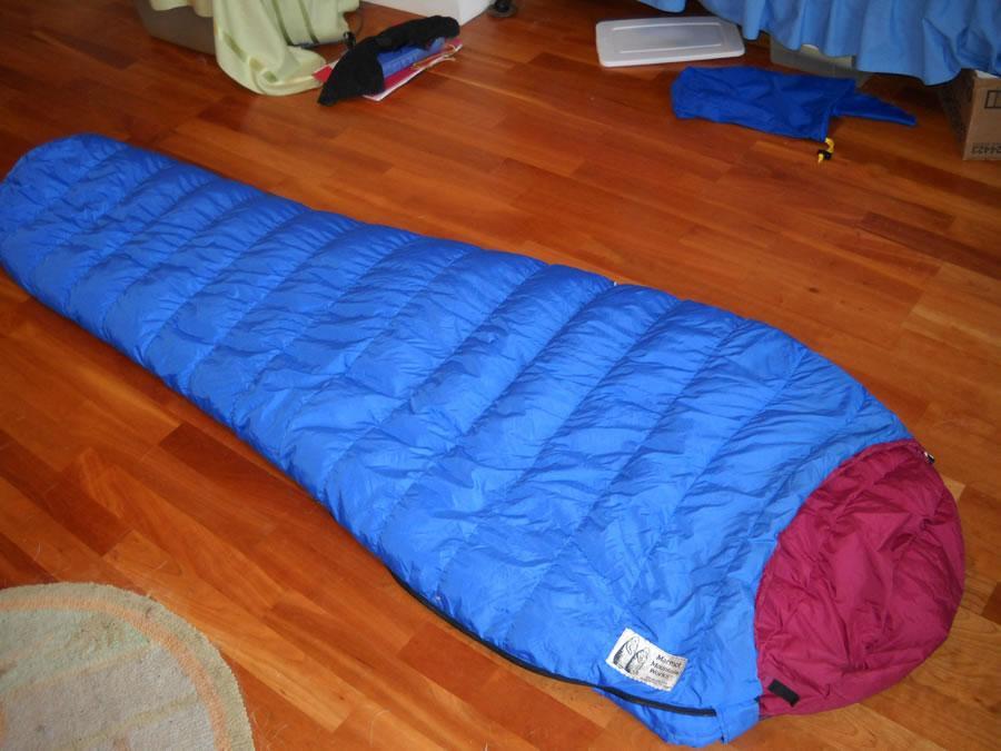 Marmot Mountain Works 轻量化羽绒睡袋赏析