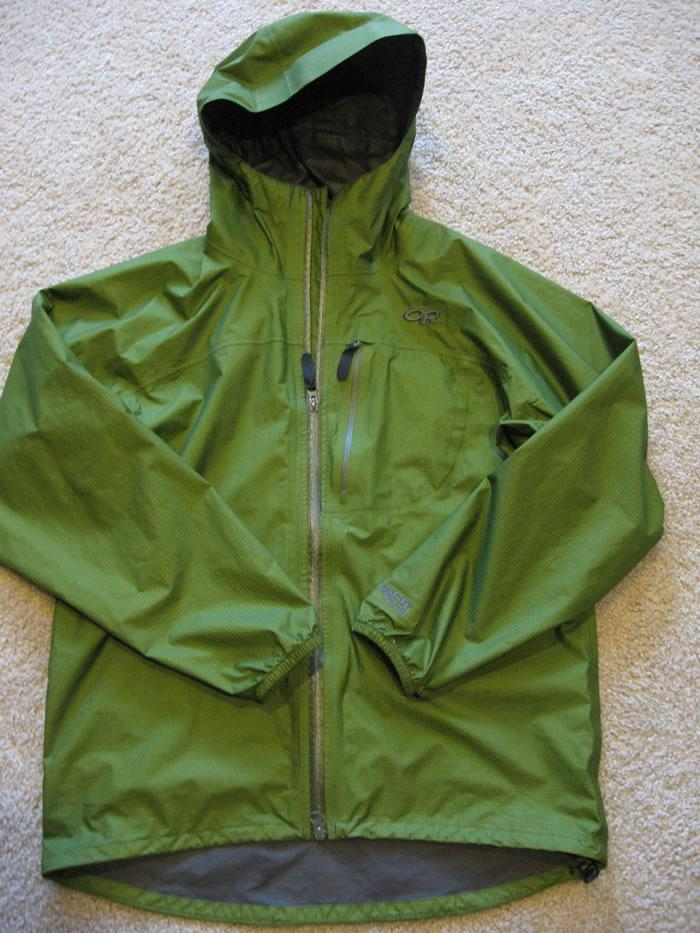 留作纪念-Outdoor Research Zealot Paclite Gore-Tex 轻量雨衣