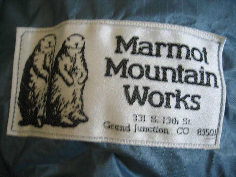 Marmot Mountain Works POCKET GOPHER Gore-tex 羽绒睡袋