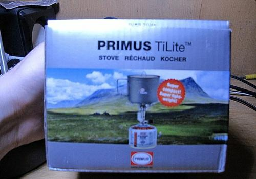 Primus功率最大炉具TiLite评测