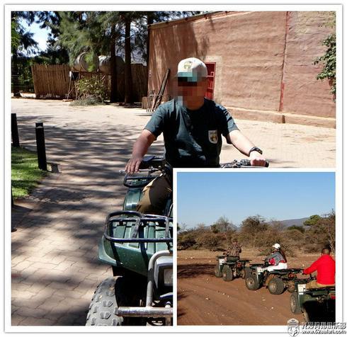 狩猎 南非 爱克兰 ATV