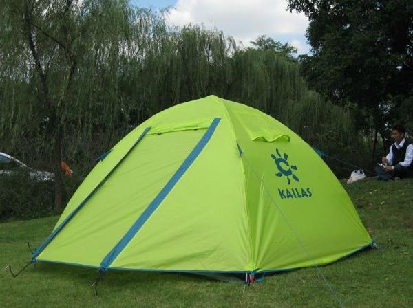 Kailas/凯乐石 KT300112春晖加强版三季帐篷体验评测报告