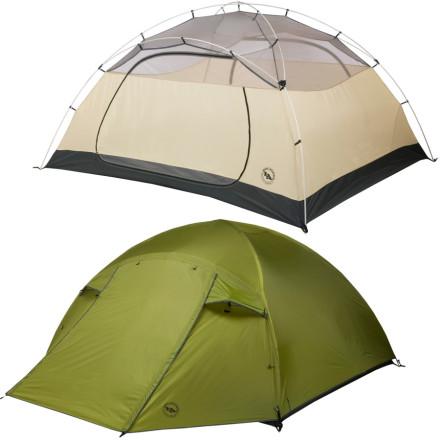 BIG AGNES 比格尼斯 Lynx Pass 野营双人帐篷 测评报告
