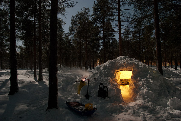 Camp-Quinzhee