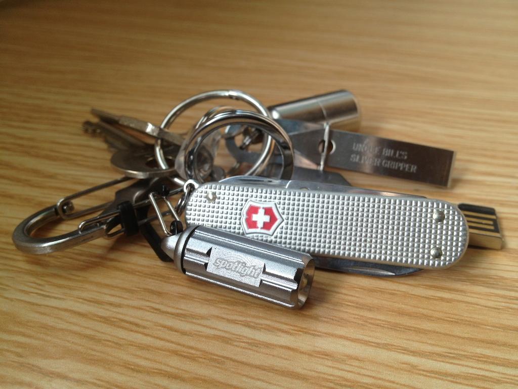 EDC钥匙控首选,最好最小最亮的钥匙灯—Spotlight Speck