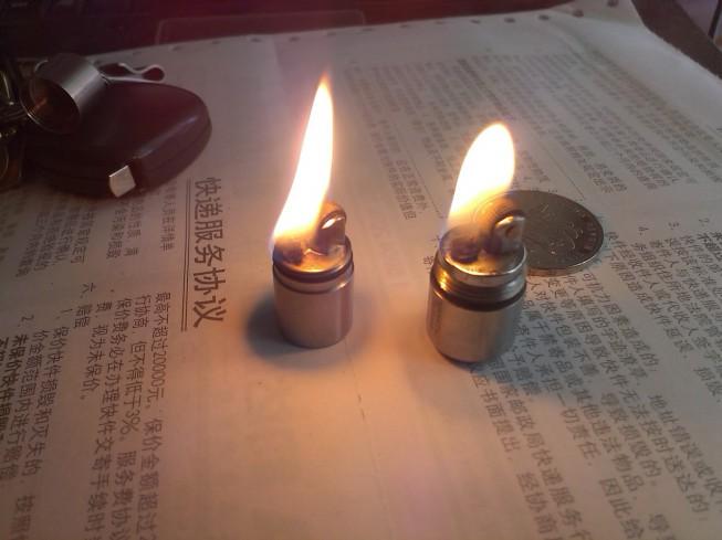 试做一只迷你打火机(对比maratac微型胶囊打火机)