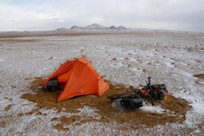北方的空地,孤身穿越大羌塘无人区:关于着装和气候