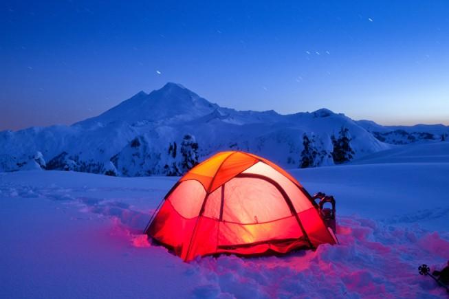 雪地露营体会