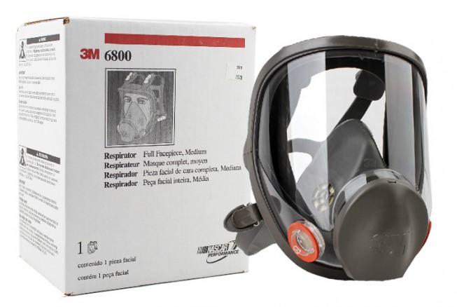 3M 6800防毒面具