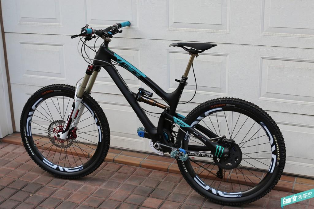 #晒装备# YETI SB66C AM 全山地自行车