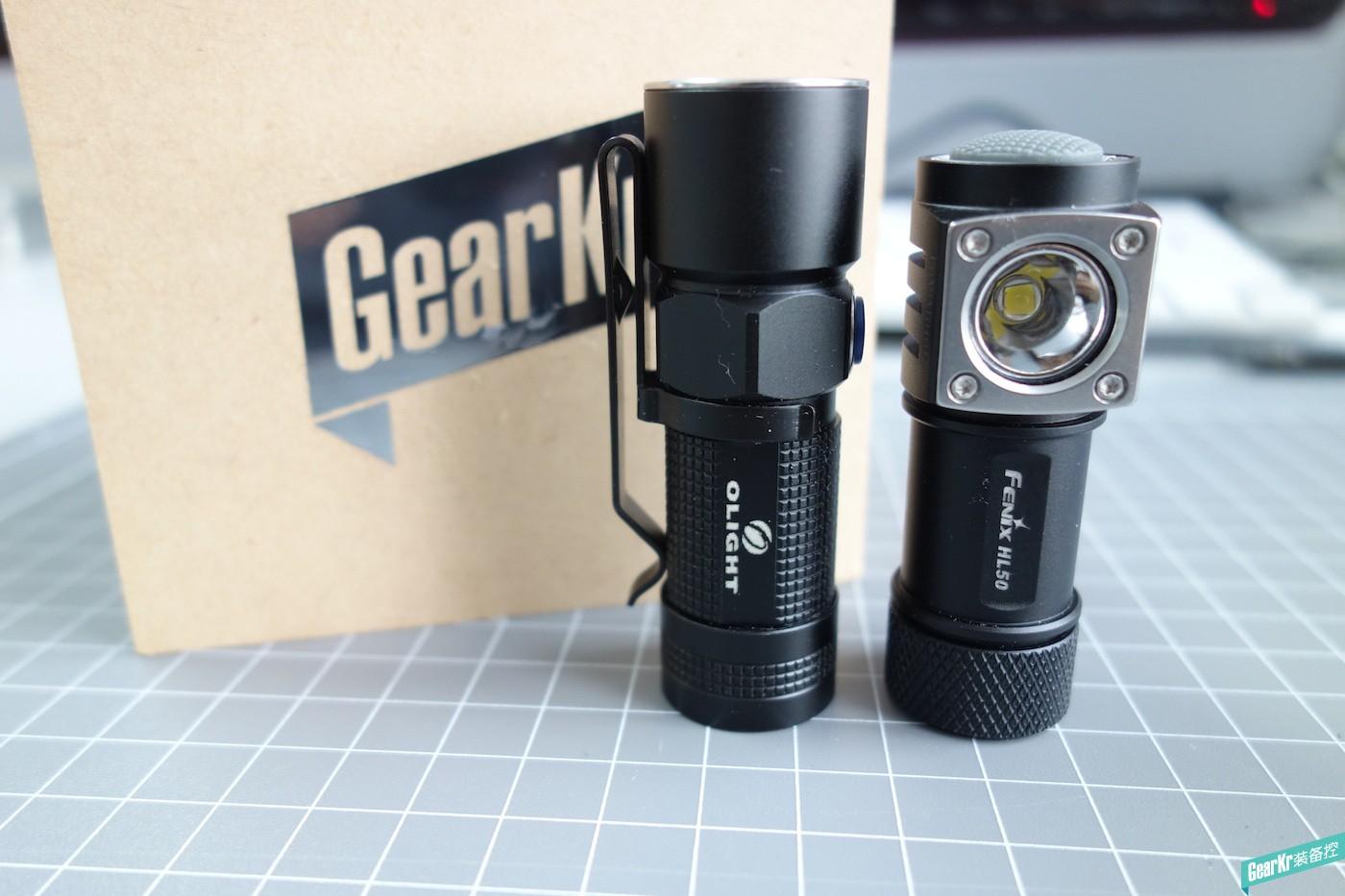 Fenix HL50和OLIGHT S10对比测评,到底谁是EDC手电霸王?