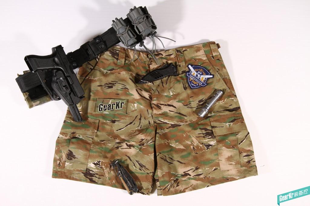 TRU-SPEC全地形虎斑8寸短裤评测
