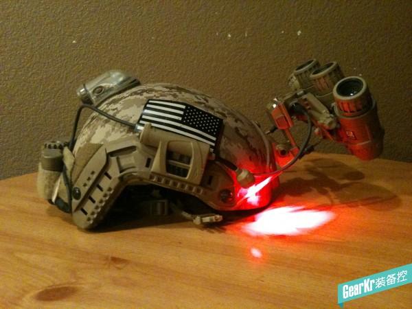 SPARTAN GPNVG-18 custom发光版夜视仪模型