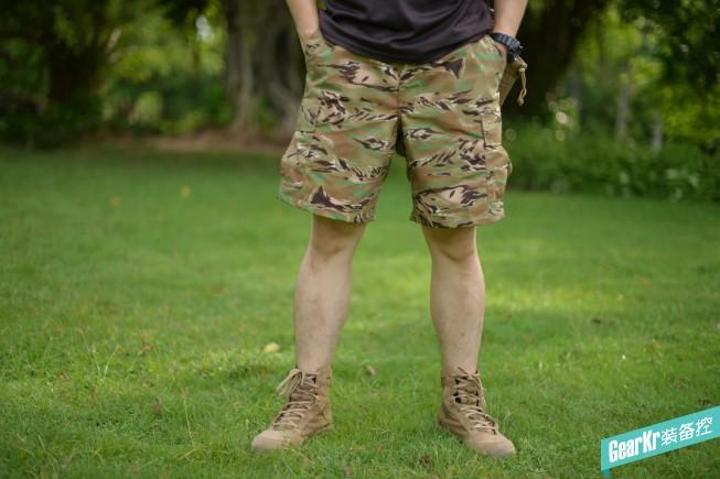 跨越军与潮的楚河汉界——TRU-SPEC 全地形虎斑8寸短裤评测