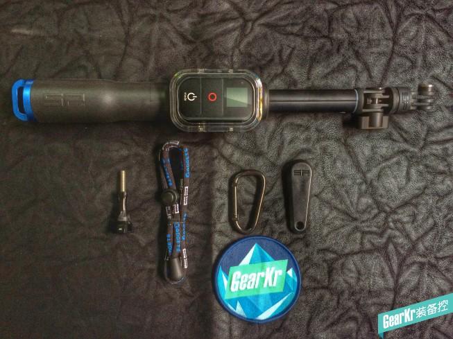 SP-Gadgets 39寸 自拍杆(带遥控器盒) 测评