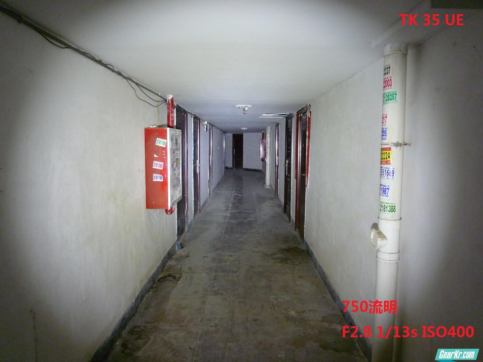 tk 35 某商品房走廊试光 750