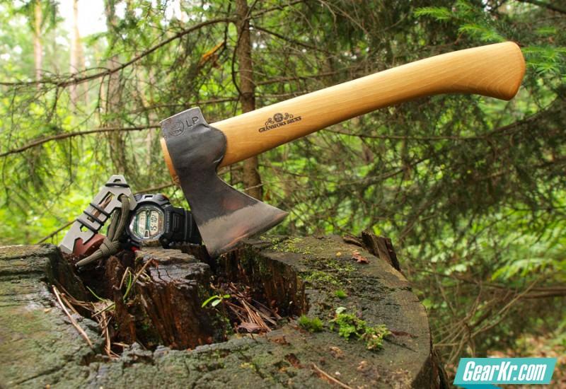 超长测评:Gransfors Bruk 袖珍短斧