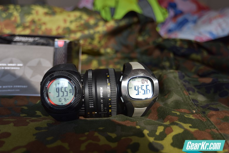 PLA炮兵防空兵制式电子表 VS 马拉松Adanac GPD电子表