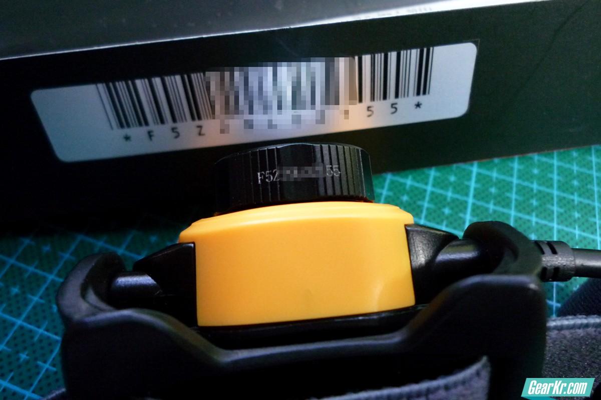 HP05 头灯编码