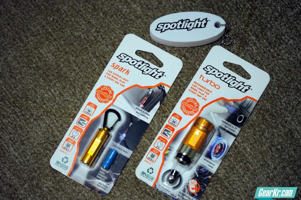 小巧土豪金,轻测试Spotlight EDC照明工具