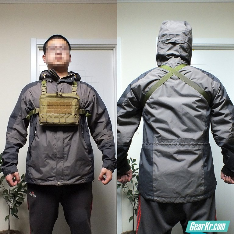 Backpack MOD – 杂物包改胸包&配套背包组合