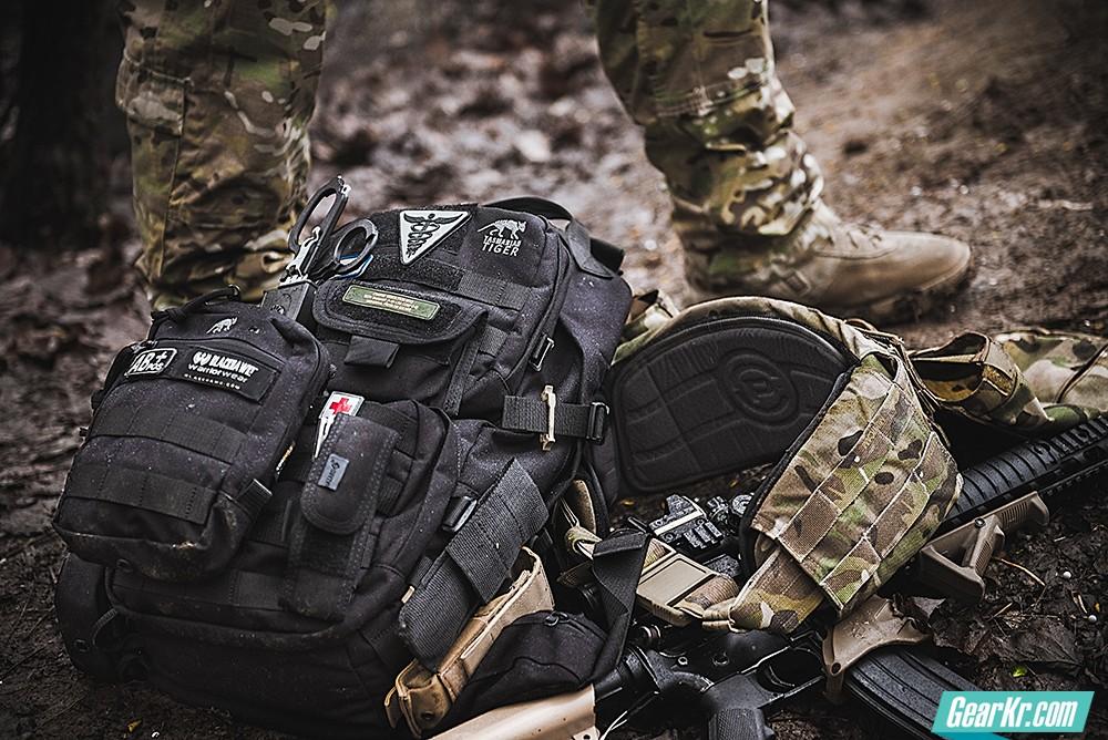 简单高效的塔虎基础作战背包:Tasmanian Tiger Combat Pack 22L