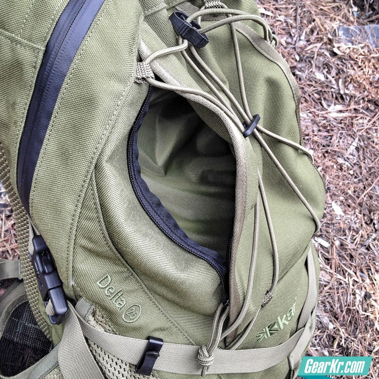 Review-Karrimor-Sabre-Delta-25-Backpack-exterior-pocket
